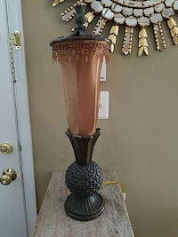 brown and black table lamp Frederick, 21704
