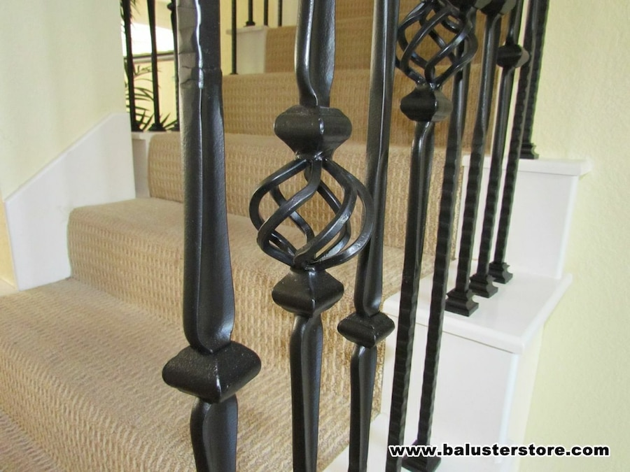 Iron Balusters, Iron Stair Parts, Stair Railing