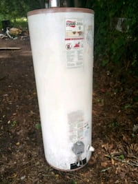 white and black water heater Gas Carencro, 70520