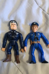 Police academy figures bobble heads