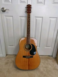 Fender Starcaster acoustic guitar. North Bethesda