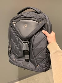 Gray and black laptop backpack Toronto, M5C 0A3