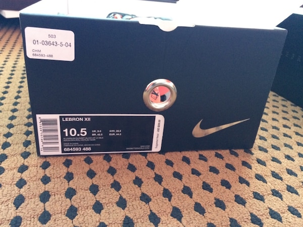 65a2120d7db2 Used Lebron James XII Easter Edition 10.5 for sale in West Palm Beach -  letgo