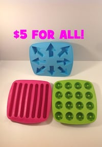 IKEA ICE CUBE MAKERS: TAKE ALL FOR $5 Brampton, L7A