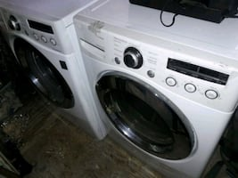 LG washer and dry