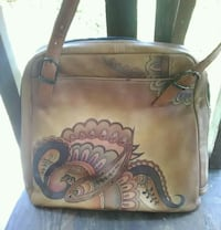 Anuschka Hand Painted Leather Purse Modesto, 95350