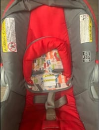 Stroller carseat with base set unisex