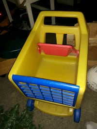 Little Tikes grocery cart