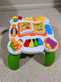 Leapfrog Learn and Groove Musical Table Activity C Sterling, 20166