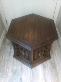 Wooden octagon cubbard/ table New Port Richey, 34654
