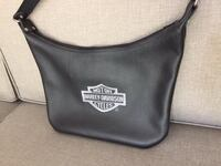 Black Leather Harley-Davidson Handbag/Purse Hephzibah