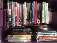 assorted DVD movie case lot Cape Coral, 33991
