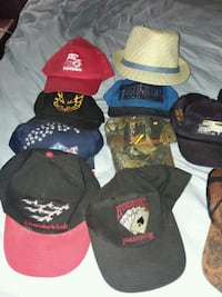 assorted-color fitted cap lot 902 mi