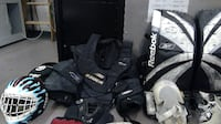 Complete goalie equipment - used VANCOUVER