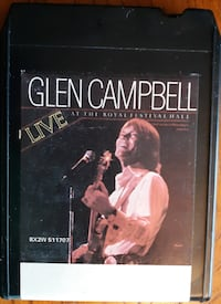 Glen Caampbell 8 Track Tape Inwood