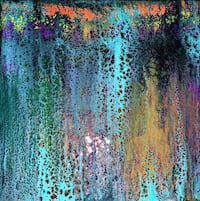 Abstract Painting 12x12 Lancaster, 93535
