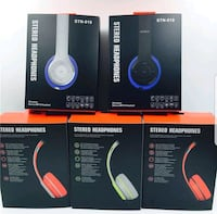 BRAND NEW STEREO BLUETOOTH HEADSET WITH MIC Toronto, M6C 3Y7
