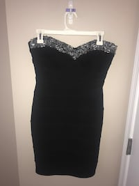 Black strapless dress Stafford, 22554