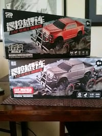 RC Trucks...both are included