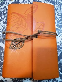 Leather brown journal