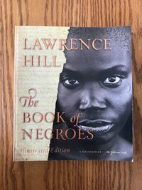 The Book of Negros by Lawrence Hill novel Illustrated edition. New, EC Brampton, L6R 2S1