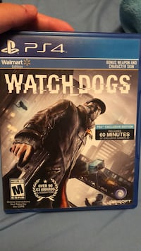 Watch dogs ps4 game case El Paso, 79922