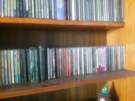 Compact Disc collection, over 200 CDs