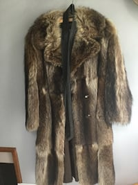 Full length raccoon coat Burlington, L7R 1Z6