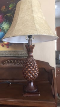 brown and white table lamp Miami, 33165