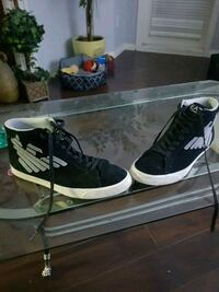 black-and-white Armani Jeans high-top sneakers Surrey, V3W 0W8