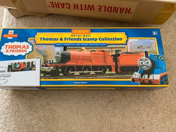 Hornby R9687 Thomas & Friends 'James The Red Engine Stamp Collection 7e0803b4-10c6-4375-87b1-7970c4828352