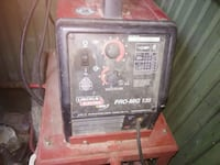 red and black Lincoln Electric welding machine Vacaville, 95687