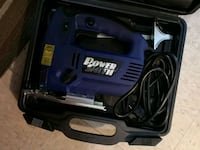 blue and black corded power tool in case Winnipeg, R2W 0R9
