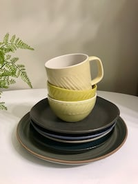 DINING SET - BOWL / CUPS / PLATES
