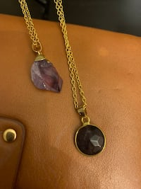 NEW Amethyst necklaces ($6 for both) Aliso Viejo, 92656
