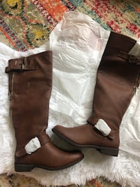 Cognac colored leather boots (7) Manchester, 03102