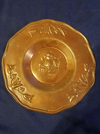 A beautiful bronze plate from Chile Shelton, 98584