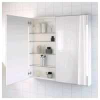 IKEA medicine cabinet with side-lit mirrors Mississauga, L5J