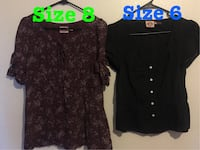 two women's brown and black blouses Merced, 95348