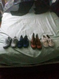 four pairs of assorted shoes $70 for all Jackson