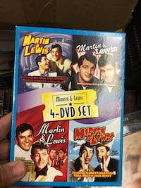 Martin & Lewis 4-DVD set case