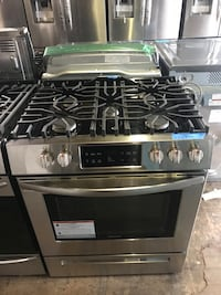 Gas stove slide In 30in new Frigidaire 6 months warranty