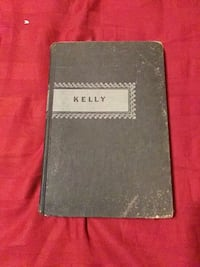 Old Book.   Kelly written by Donald Henderson Clarke