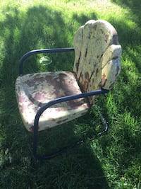 Vintage metal outdoor chair Shelbyville, 40065