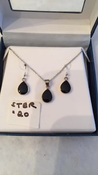 New Sterling Necklace & Earring Set $20 Mint Hill, 28227