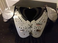 white and black shoulder pads Chattanooga