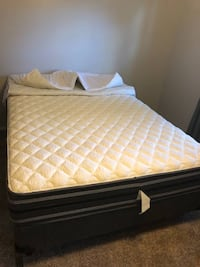 New Queen Size Matress and Frame.   COLUMBIA