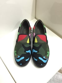 Valentino Camouflage Slip-on Sneakers