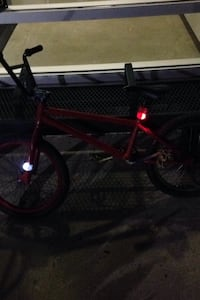 Fresh red paint back Pags black handle bars black set and extra parts Edmonton, T6K