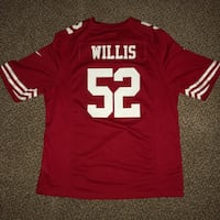 "San Francisco 49ers ""WILLIS"" Jersey Monrovia, 91016"